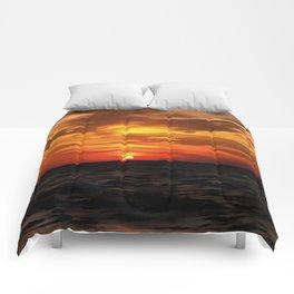 Burned Horizons Comforters