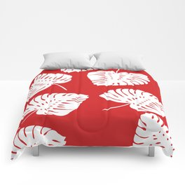 Tropical Red Comforters