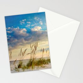 Sea Oats Beach Sunset Stationery Cards