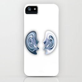 I'm all ears - Abstract illustration iPhone Case