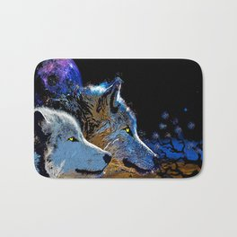 THE WOLF YOU KNOW Bath Mat