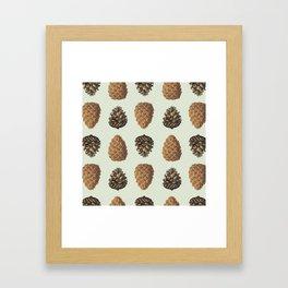 Pinecones! Framed Art Print