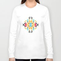 arabic Long Sleeve T-shirts featuring Orange Arabic by Farah Saheb