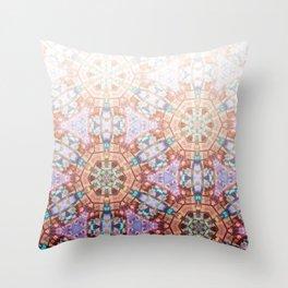 Geometric Ombre Throw Pillow