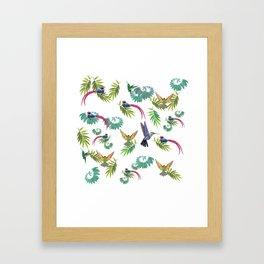 Birds Heaven Framed Art Print