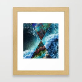 Elements : Water  Framed Art Print