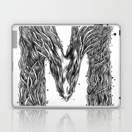 The Illustrated M Laptop & iPad Skin