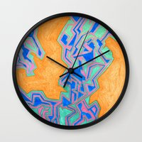 cracked Wall Clocks featuring Cracked by Carrollskitchen on youtube