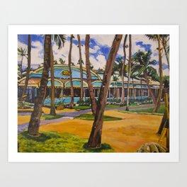 Mama's Fish House, Maui Art Print