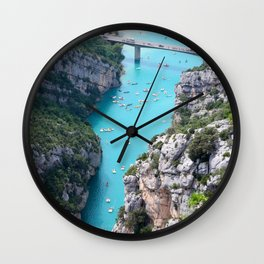Cliffs And Tosca Wall Clock