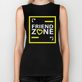 Friendship or Friendzone Love Biker Tank