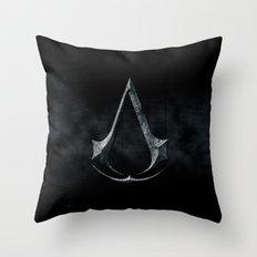Assassins Creed Dark Stone  Throw Pillow
