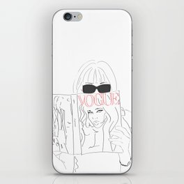 Voguestagram Anna Wintour iPhone Skin