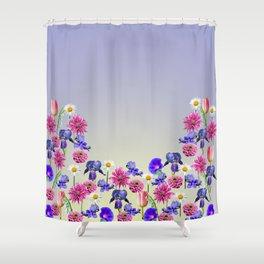 Flowers From My Garden Shower Curtain