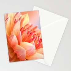 Dahlia Glow Macro Stationery Cards