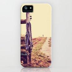 Road Country Farm iPhone SE Slim Case