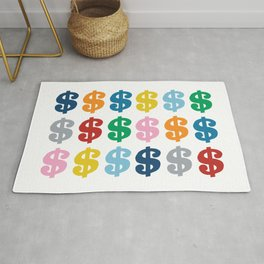 Colourful Money Rug