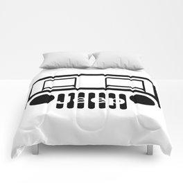 Jeep Logo Comforters