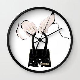 Hands | Fashion line-art Wall Clock