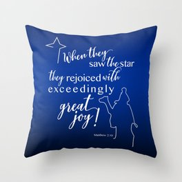 Christmas Joy! Throw Pillow