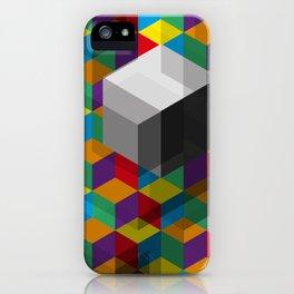 Isometric Colour iPhone Case