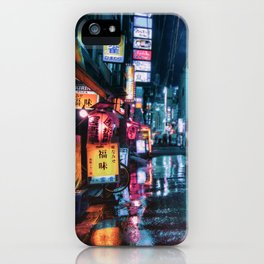 Tokyo at Night iPhone Case