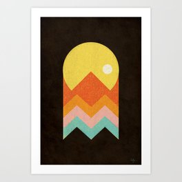 Amazeing Sunset Art Print