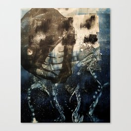 Below Sea Level Canvas Print