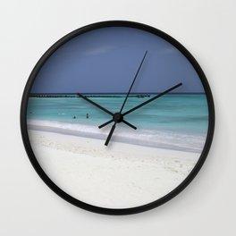 Beach perfection Wall Clock
