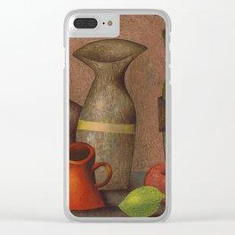 Still Life-Shelf Clear iPhone Case