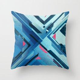 Geometric - Collage Love Throw Pillow