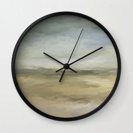 Saffron Wall Clock
