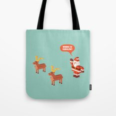 Where is Rudolph? Tote Bag