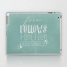 form follows function Laptop & iPad Skin