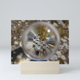 magnified stone Mini Art Print