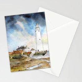 St. Mary's Lighthouse Stationery Cards