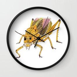 Grasshopper Cubed Wall Clock