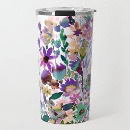 Scarlett Floral Pastel Travel Mug