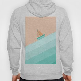 Boat on the Water #1 Hoody
