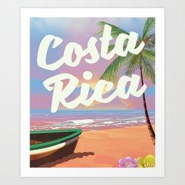 Costa Rica Art Print