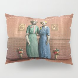 The Sloth Sisters at Home Pillow Sham