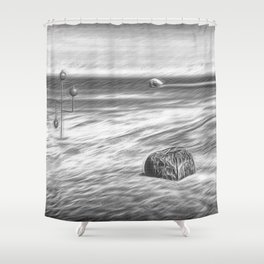Occurrence on the Bay Shower Curtain