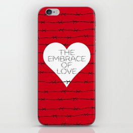 The embrace of love iPhone Skin