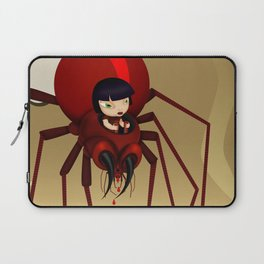 Travel by spider Laptop Sleeve
