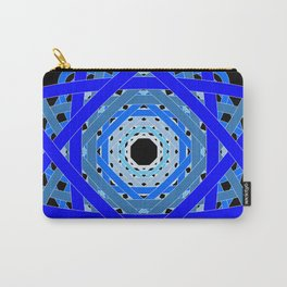 Not Quite Tangled Inside Out (Black Light Version) Carry-All Pouch