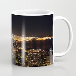 Seattle Night Lights - Great Wheel Coffee Mug