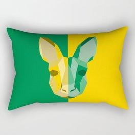 Kangaroo for Australia Rectangular Pillow