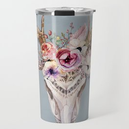 Deer Skull 2 Travel Mug