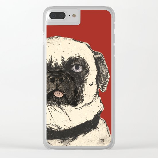 Dog Days Clear iPhone Case