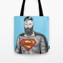 Super Bearded Reeve Tote Bag